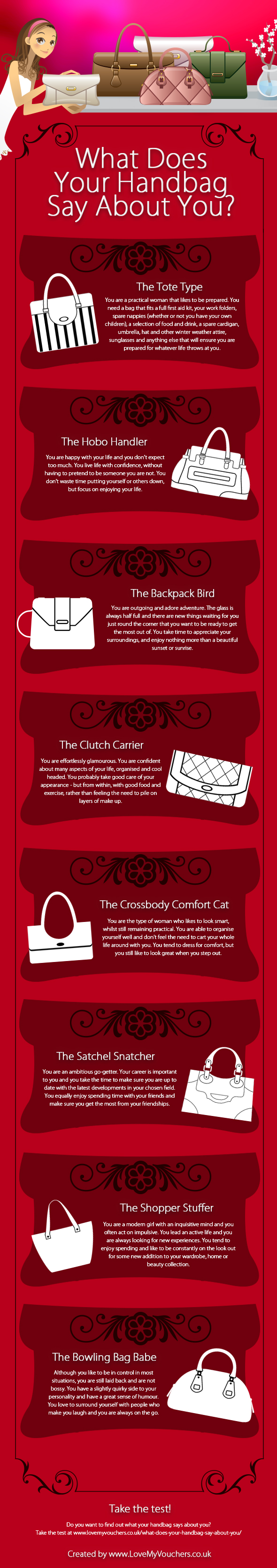 What Does Your Handbag Say About You?