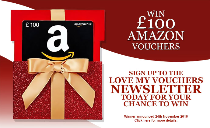 Win £100 Amazon Vouchers