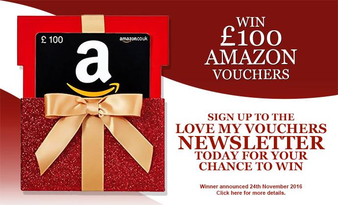 Win £100 Amazon Vouchers