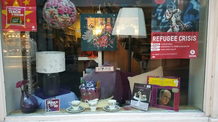 Charity Shop Window