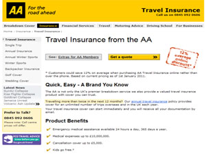 The AA - Travel Insurance