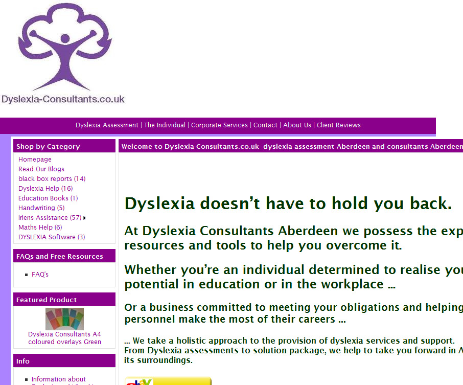 Dyslexia Shop