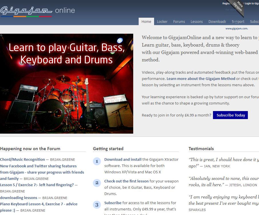Gigajam Online Music School