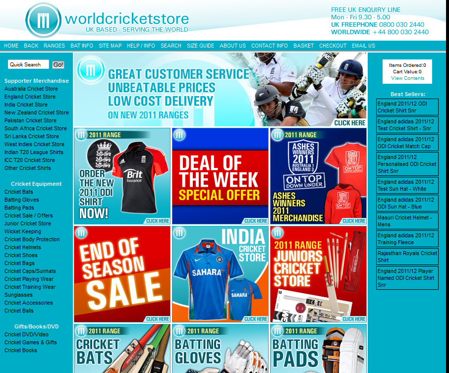 WorldCricketStore.com