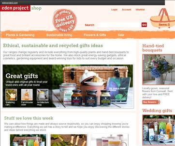 Eden Project Shop