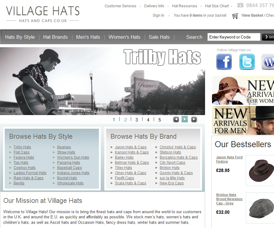Village hats coupons