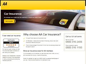 The AA Car Insurance