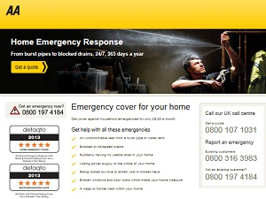 The AA Home Emergency Response
