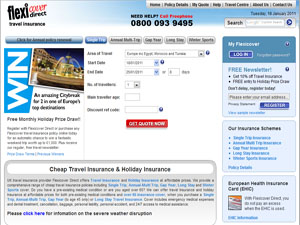 Flexicover.net Travel Insurance