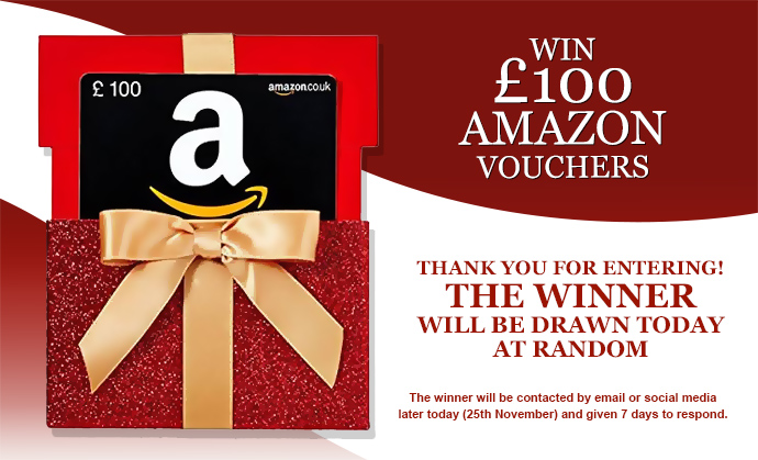 Win £100 Amazon Vouchers. Newsletter competition.