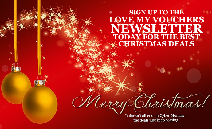 Christmas Deals Newsletter.
